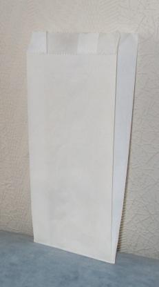 Белый крафт пакет фасовочный, возможно нанесение логотипа